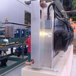 Central de refrigeração para solução de propileno glicol